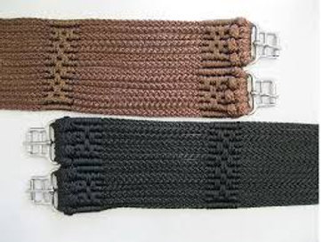 Stubben Cord Girth with Stainless Steel Rollers