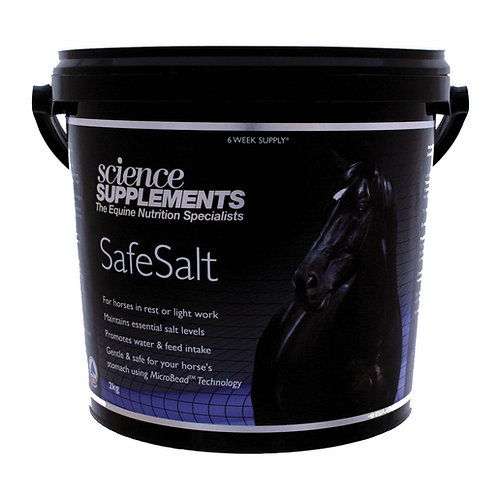 SafeSalt - Horse Salt Supplement 2kg