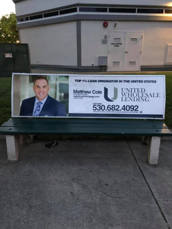 Real Estate Bench
