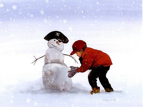 Pirate Snowman