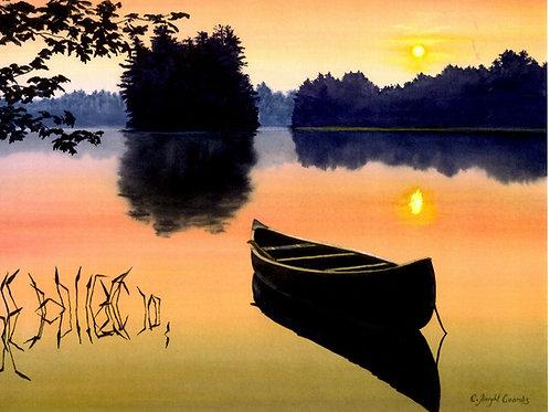 Sunrise Canoe