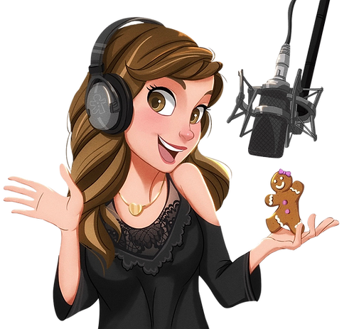 Ginger Sue VO cartoon logo no background