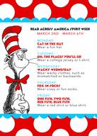 Read Across America Spirit Week: 2020