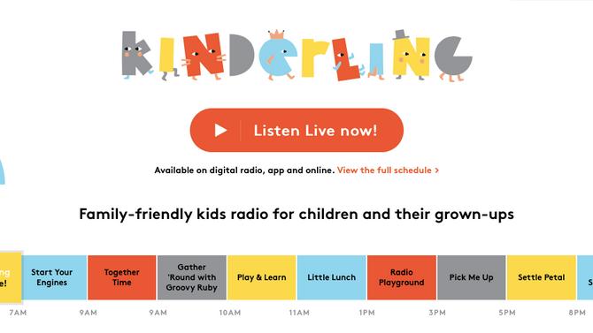 Kinderling | Kid Friendly Radio