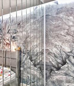 Lustra fazowane w sypialni