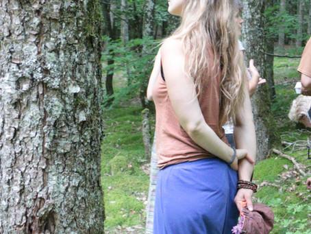 Au bain ! Dans la forêt....