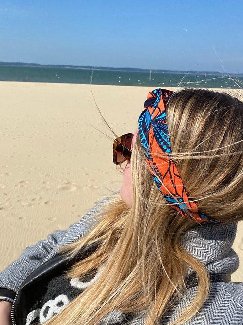 headband coton tissu africain mode