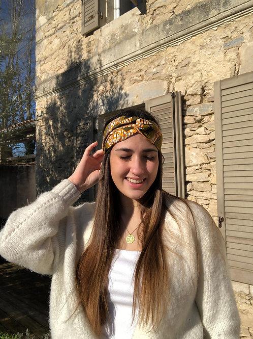 headband africain wax coloré cadeau original pas cher