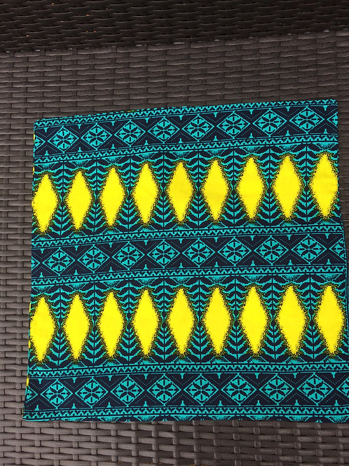 housse de coussin tissu africain canapé boubou accessoire de décoration ameublement coton salon