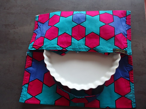 cuisine cadeau géométrique étoile tarte wax accessoire coloré rose bleu