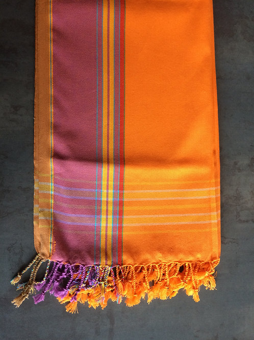 fouta nappe textile plage serviette plaid