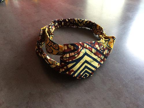 bandeau pour mettre dans les cheveux turban coton coloré