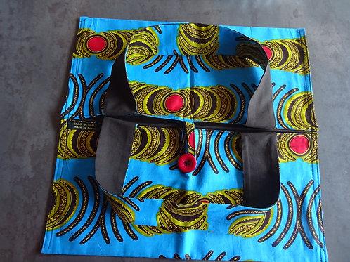 cadeau cuisine tarte ethnique wax textile