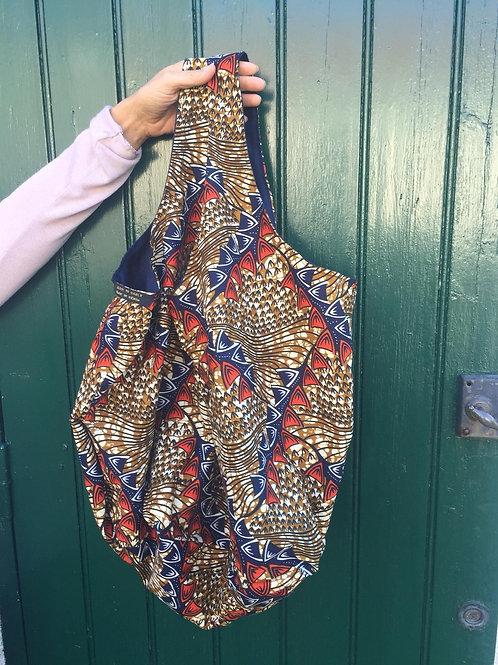 cadeau original pratique sac grande capacité tissu wax