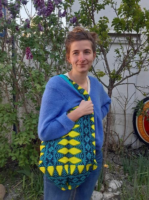 sac en tissu africain multifonction