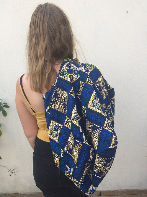 accessoires wax coton tissu africain sac WE naissance bébé maman