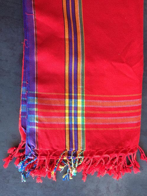 serviette de plage écharpe été africain