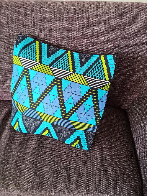 Fait main tissu africain boubou accessoire de décoration ameublement coton pagne lavable en machine grain de sable