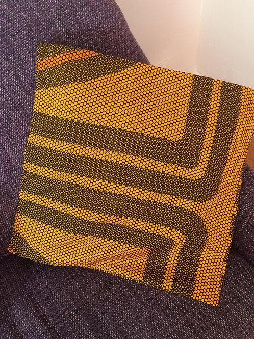 géométrique ruche lavable décoration accessoire de décoration ameublement jaune