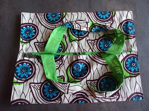 tarte wax boubou cadeau cuisine fleurs africain offrir coloré
