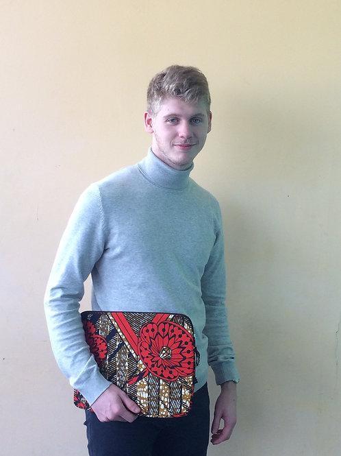 PC Mac ordi pochette tissu africain wax cadeau