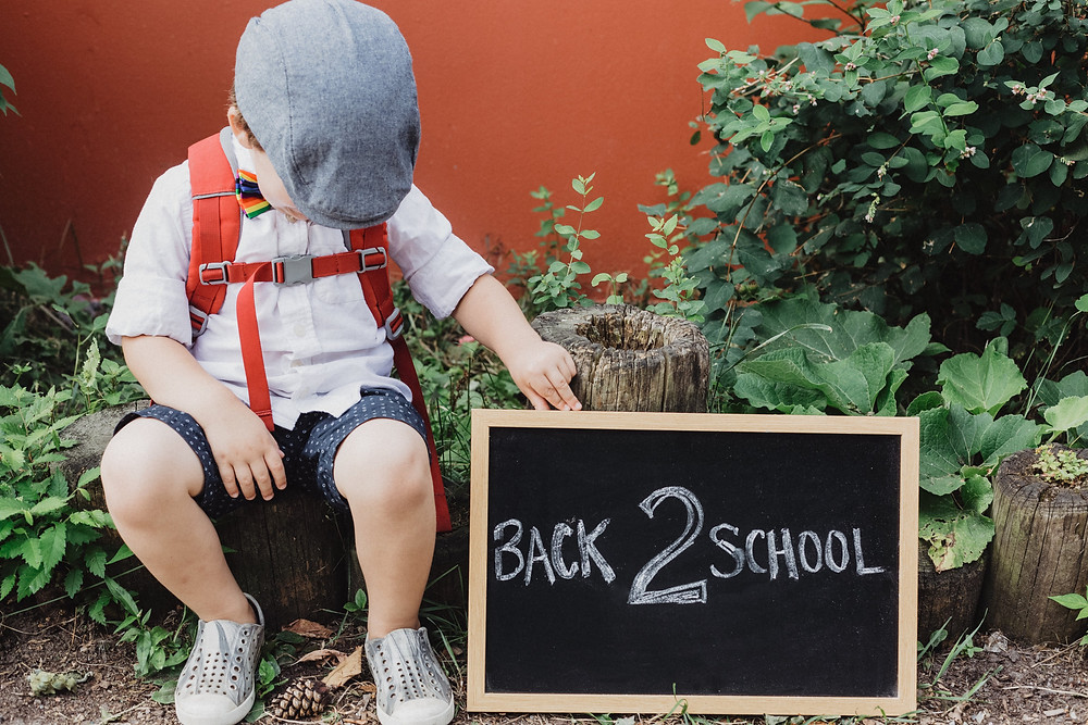 Well in our case its back to school for oldest but starting school for the youngest. We said our teary goodbyes to our regular playgroups and activities (tears were me, not him)  but now we are moving on and although I have been dreading this for a long time I can't say the same for him....he is hugely looking forward to it.   However, having been through the start-to-school loop once already I know it has a massive impact on them is so many ways.....not least their tiredness levels.     Some will cope better than others but its best to play safe and assume that even the most resilient sleepers will be finding the new environment, new friends, new teachers and new grown up rules exhausting in the beginning.     So, here are some tips to get our little schoolboys and girls through the early days.     1. BRING BEDTIME FORWARD by half an hour, even up to an hour if they are prone to getting tired easily. This gives them a chance to catch up and they will probably be ready for it.        2. KEEP WEEKENDS FAIRLY QUIET for the first few weeks...obviously normal life goes on after school starts but maybe it's not the best time for long hangouts at busy play places in those early days....just give them a chance to take it easy and relax if they need to.        3. RETURN OF THE NAP. Tired school starters may even want to do the odd nap at the weekend if they get the chance so restful weekends can accommodate that. Or they may even sleep later in the morning (yay). Let them do it if you possibly can, it's all part of catching up.        4. TRY NOT TO GET TOO CAUGHT UP IN AFTER SCHOOL ACTIVITIES. This can be tougher to manage as they may have some they are already doing, or they have to go with older siblings. But try to avoid starting new ones...they have a lot of new things to contend with already even though they will probably be begging to try all of the gymnastics, football, dance and music clubs.        5. WATCH OUT FOR OVER-TIRED SIGNS. Disturbed sleeping, early rising,