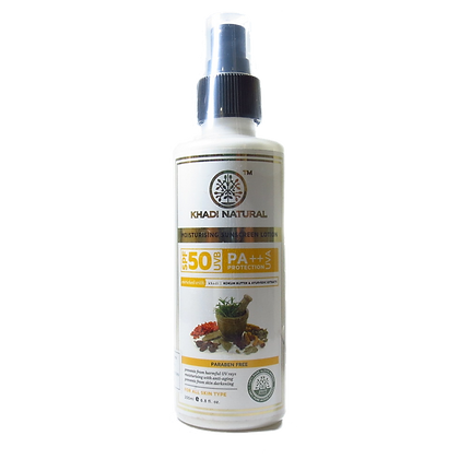 Khadi Natural™ Sunscreen Moisturising Lotion (SPF 50)