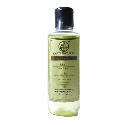 Khadi Natural™ Neem & Teatree Face Wash