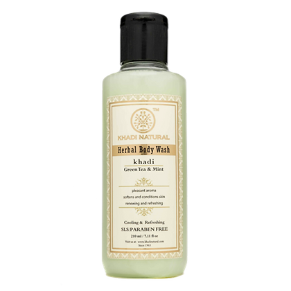 Khadi Natural™ Green Tea & Mint Body Wash