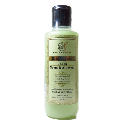 Khadi Natural™ Neem & Aloevera Herbal Shampoo