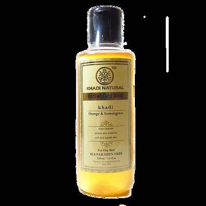 Khadi Natural™ Orange & Lemongrass Face Wash