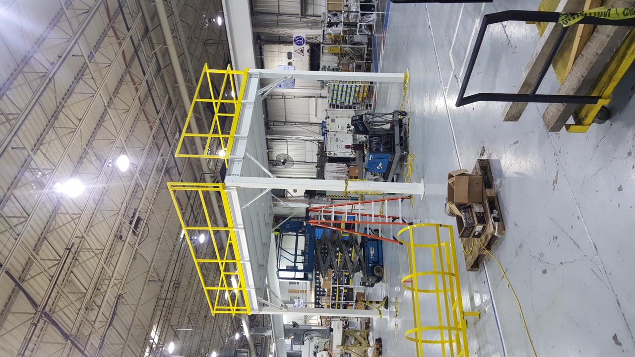 Foam Distribution mezzanine