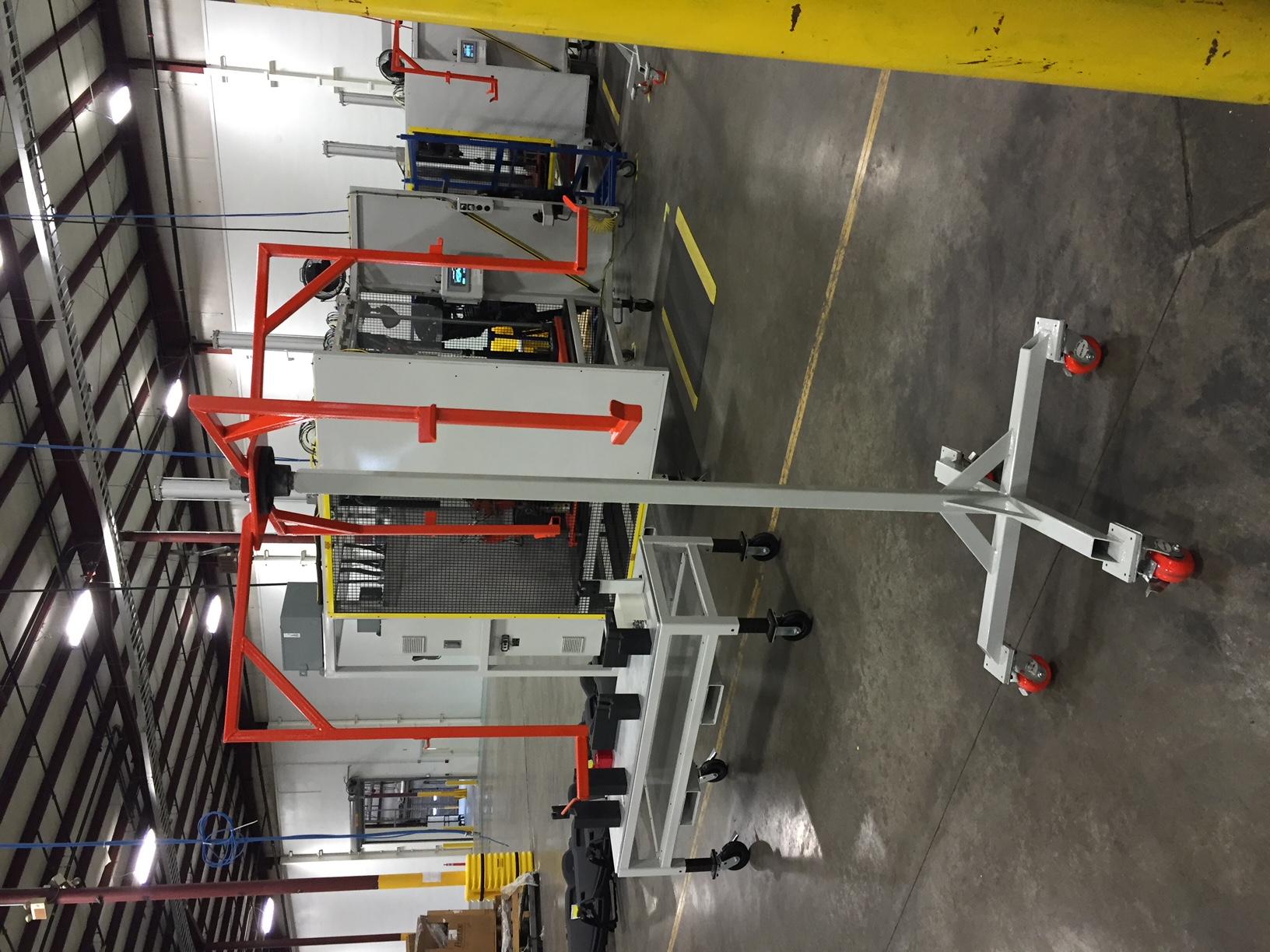 Rotating Buffer rack