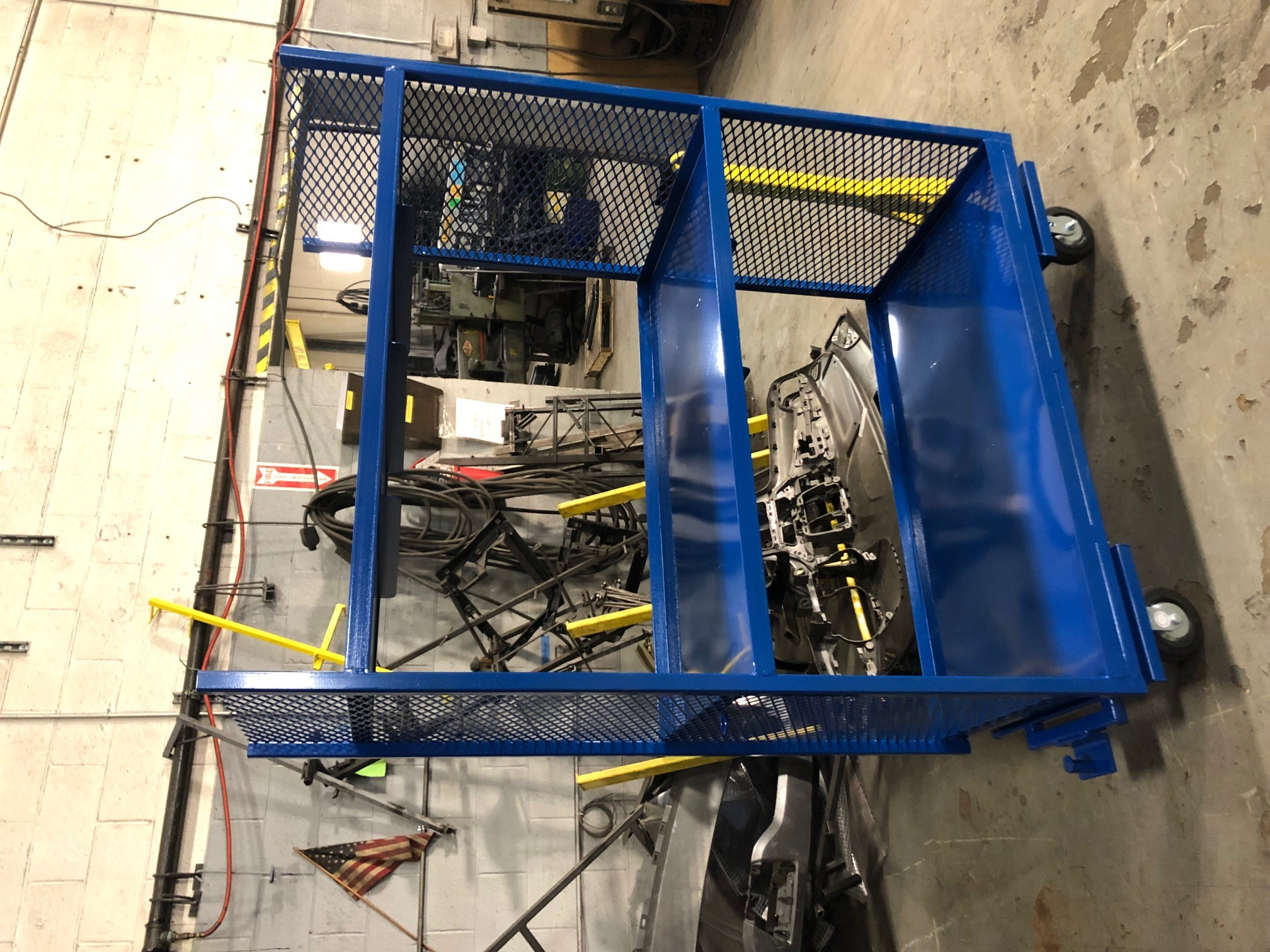 material feed cart BOP