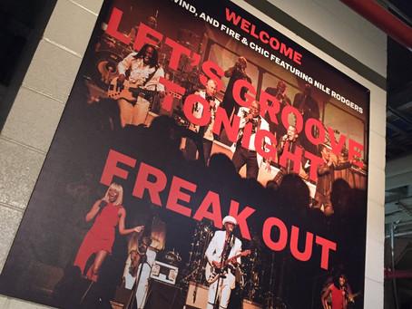 8月7日 ニューヨークにて今も高く評価されるグループ、シック・フィーチャリング・ナイル・ロジャース「2054ツアー」でのショーをマジソンスクエア・ガーデンにてパフォーマンス!!