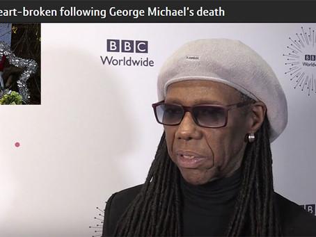 ナイルがジョージ・マイケルの死について悲痛な思いを語る。