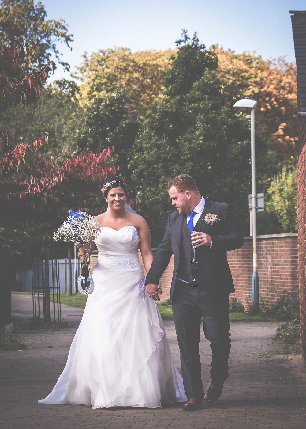 Bride and Groom Vita Vestra Wedding Photography Cheltenham, Gloucestershire