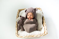 Baby basket photo professional photographer