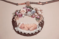 Newborn photography cheltenham Gloucestershire baby in basket