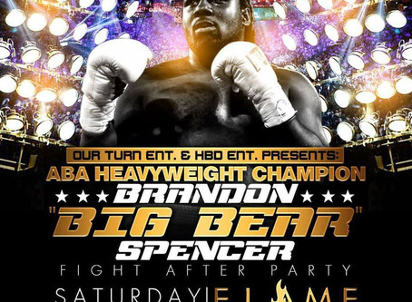 "Salute to an American Boxing Champion -Brandon ""Big Bear"" Spencer"