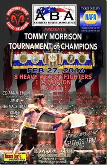 Tournament of Champions Poster