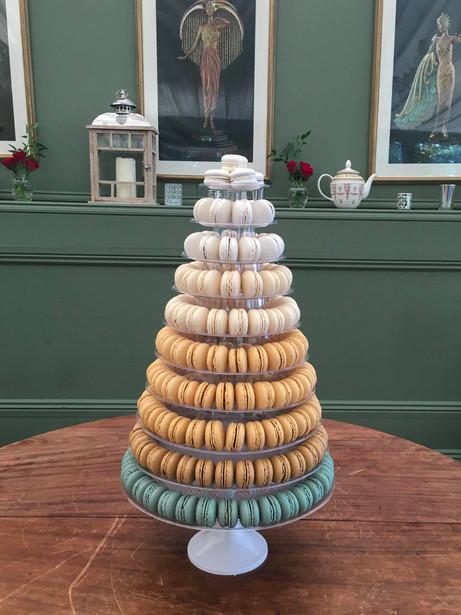 10 tiers macaron tower