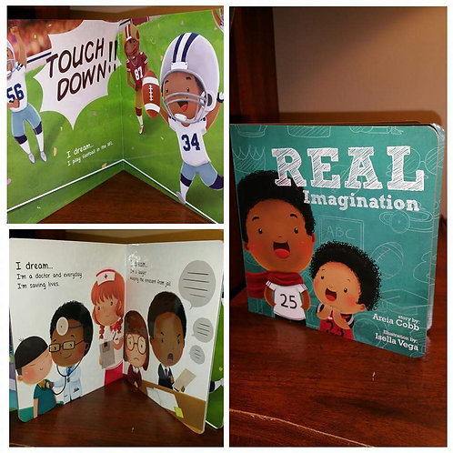 BOARD BOOK: Real Imagination