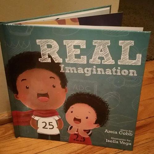 Hardback BOOK: Real Imagination