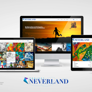 Project Neverland Website
