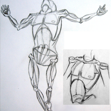 Arms Stretched Study