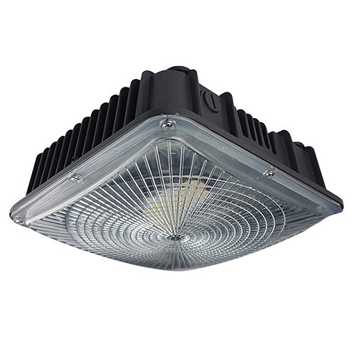 Watt-Selectable LED Canopy Fixture