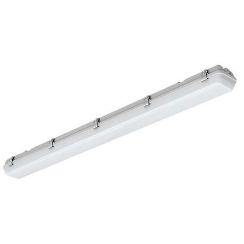 Watt-Selectable LED Vapor-Tight Linear Fixture