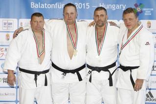 Чемпионат Европы по Дзю-До среди Ветеранов в Венгрии