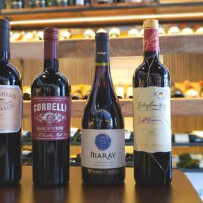 Vinhos tintos leves para o verão